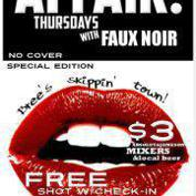  AFFAIR! Thursdays