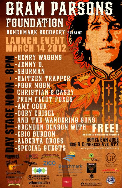 Gram Parsons Foundation Launch Event - (FREE w/ RSVP on Do512)