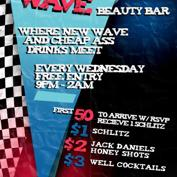  Do312.com &amp; Beauty Bar Present: BARGAIN WAVE  $1 Beers All Night + Hosted Schlitz + More w/ RSVP