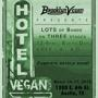 Hotel Vegan Day 1