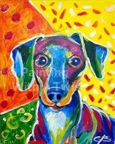 "Painting With a Twist - ""Paint Your Pet"""