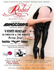 Arnocorps, Memphis Murder Men, La Cholita &amp; The Kreeps, Swamp Angel, Roadside Bombs,