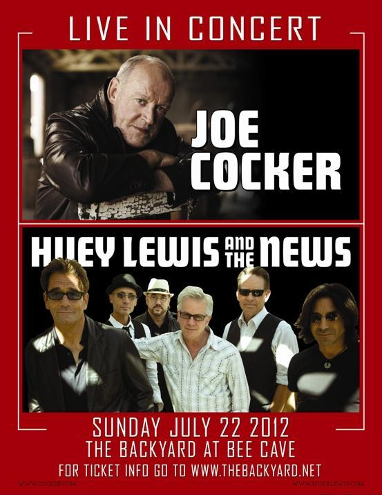 Joe Cocker, Huey Lewis and the News