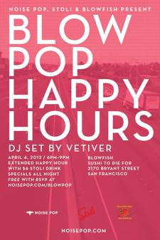 Blow Pop w/ Vetiver (DJ Set)