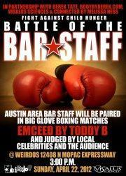 Battle of the Bar Staff - Fight Against Child Hunger