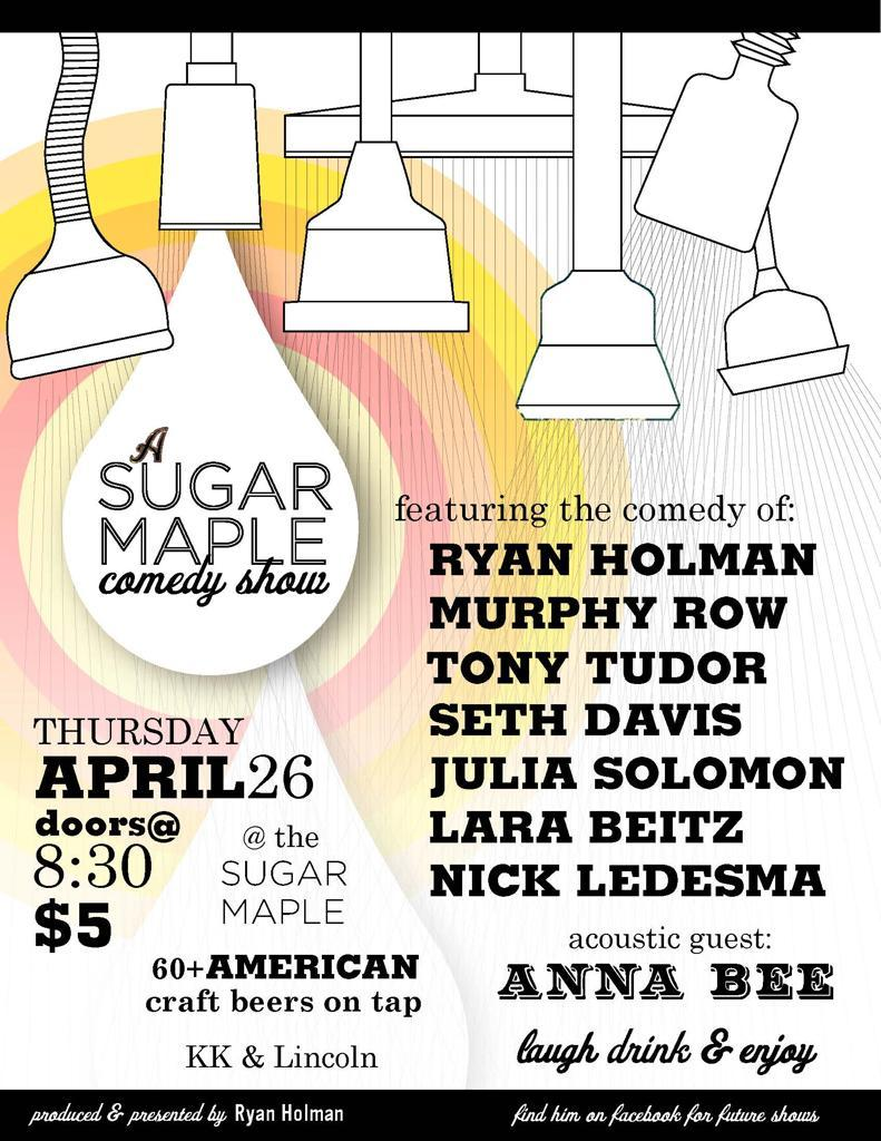 A Sugar Maple Comedy Show
