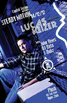 Capital Techno Presents: STEADY MOTION w/ Lucas Keizer