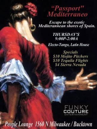Passport Mediterraneo - Thursdays with Funky Couture