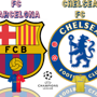  Champions League Semis Chelsea v Barcelona