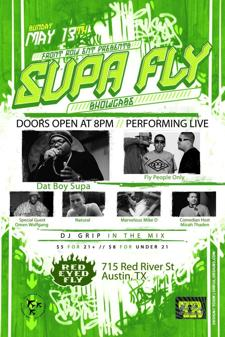 Front Row Ent. presents SUPA FLY SHOWCASE