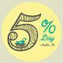 Give 5% to Mother Earth Day