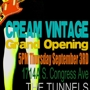 CREAM VINTAGE Grand Opening Soco Location