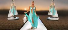 The Catwalk on the Dock ~ Summer Fashion Show