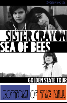 Sister Crayon, Sea Of Bees, Jhameel