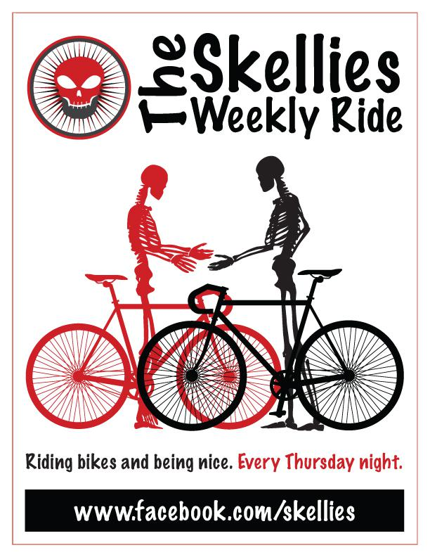 The Skellies Weekly Ride!