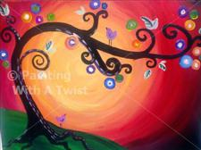 Painting With a Twist - &quot;Whimsey Tree&quot;
