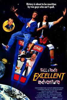 ZZANG!!! Bill & Ted's Excellent Adventure w/ Diane Franklin