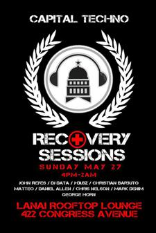 Capital Techno Presents RECOVERY SESSIONS