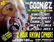 The GOONIEZ show w/ N.I.P, Chase Boy, GrimNasty and more plus 2 Hr. Rhyme Cipher