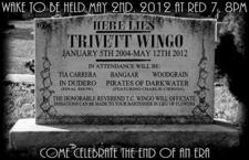 Trivett Wingo's Going Away Party with Tia Carrera, Fingaar Bangaar, Woodgrain, In Dudero, Pirates of Darkwater FREE!