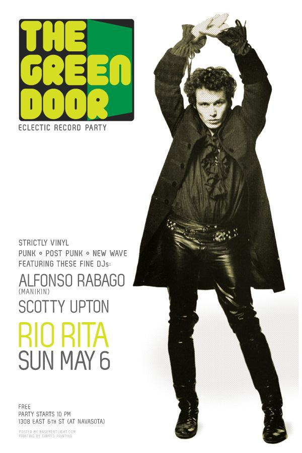 The Green Door Record Party – Spiky Punk Edition