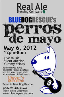 Blue Dog Rescue's Perros de Mayo benefit & live music