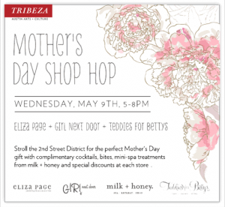 Mother's Day Shop Hop
