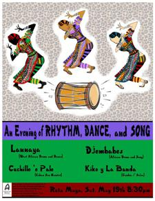 A Night of Dance, Rhythm, and Song - West African, Colombian, Cuban