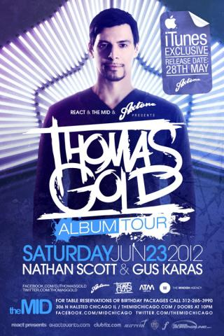 Thomas Gold At The Mid Chicago