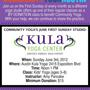Community Yoga's First Sunday Kids Class at Austin Kula Yoga