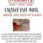  Mulberry Crawfish Boil!