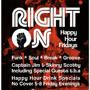  Happy Hour &quot;Right On!&quot; Funk &amp; Soul Friday