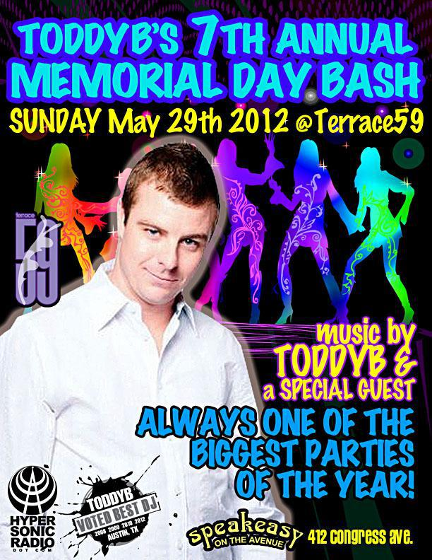 Toddy B's 7th Annual Memorial Day Bash