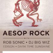 Aesop Rock After Show: Potent Tai + HADES the Unscene + Kyle Hubbard (HTX)