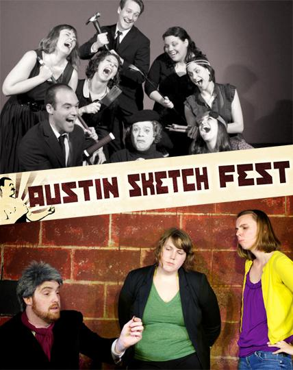 Austin Sketch Fest: There's Waldo! and The Hustle Show