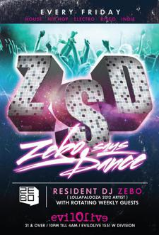 Zebo Says Dance ┼ GUEST DJ ≡ Mattboy White