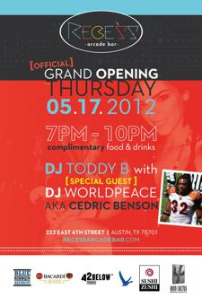 Recess Arcade Bar Official Grand Opening Party
