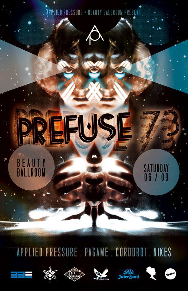 Prefuse 73 with Applied Pressure