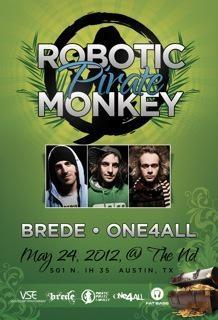 Robotic Pirate Monkey w/ Brede & ONE4ALL