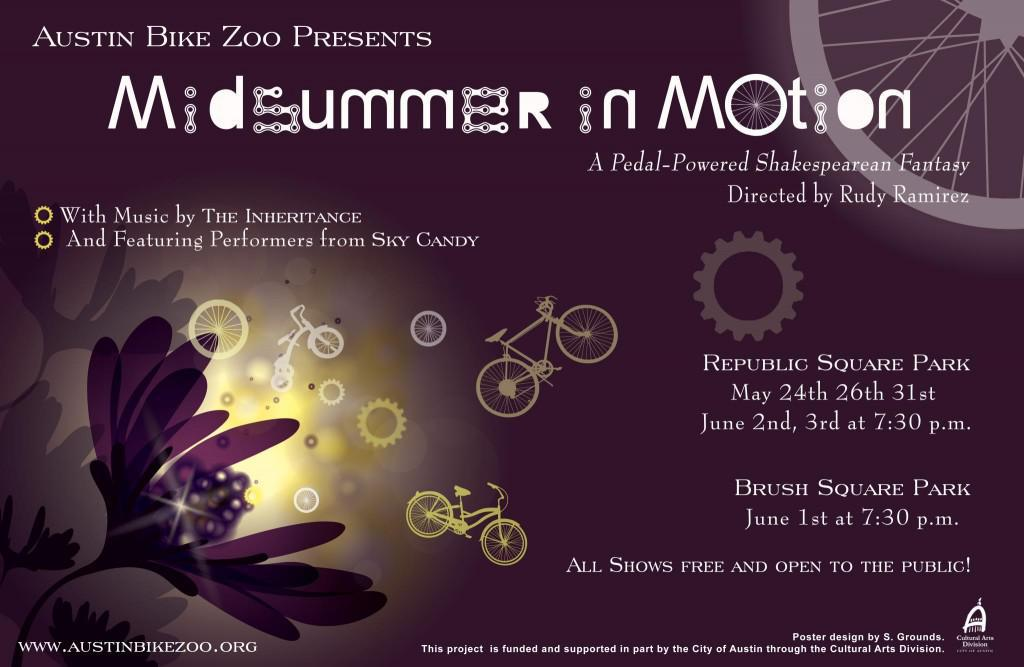 "Austin Bike Zoo Presents ""Midsummer in Motion"""
