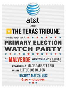 Texas Tribune Primary Election Watch Party
