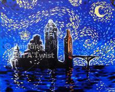 Painting With a Twist - Austin Starry Night