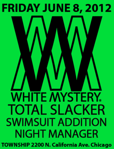 White Mystery, Total Slacker, Swimsuit Addition, Night Manager