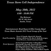MedRebels Foundation's Cell-ebration and Fundraiser for Texas Stem Cell Independence