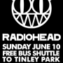 Ride the Reggies Bus to Radiohead FOR FREE!!