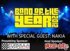 Formula Expo and Music &amp; Arts Present Band of the Year 2012 with special guest Nakia