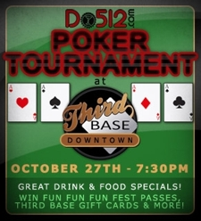 Do512 FREE Poker Tournament! (No Limit Hold 'em)
