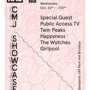 NME & Hate Hate Hate Records CMJ Party! Bo Ningen, Public Access TV, Twin Peaks, Happyness, The Wytches, Girlpool