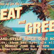 MEAT & GREET ***FREE BBQ***  island-style whole goat roast!