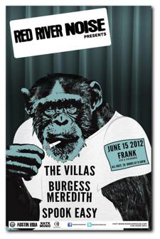 Red River Noise Showcase: The Villas / Burgess Meredith / Spook Easy